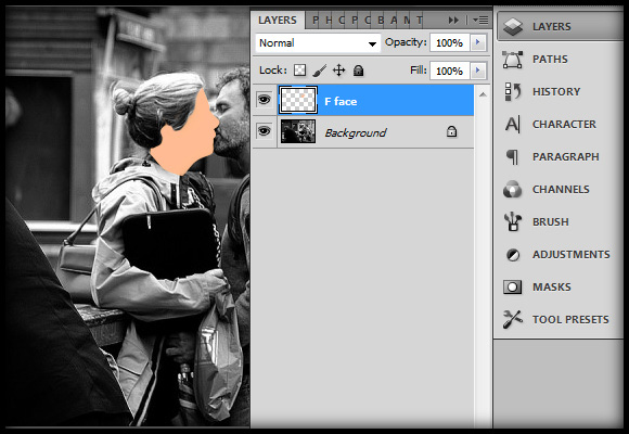 image-07 Working with Photoshop's Blending Modes to Color a Black and White Photo