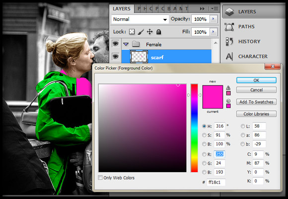 image-15 Working with Photoshop's Blending Modes to Color a Black and White Photo