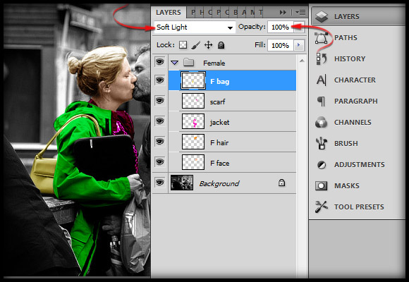 image-18 Working with Photoshop's Blending Modes to Color a Black and White Photo