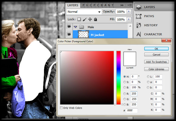 image-28 Working with Photoshop's Blending Modes to Color a Black and White Photo