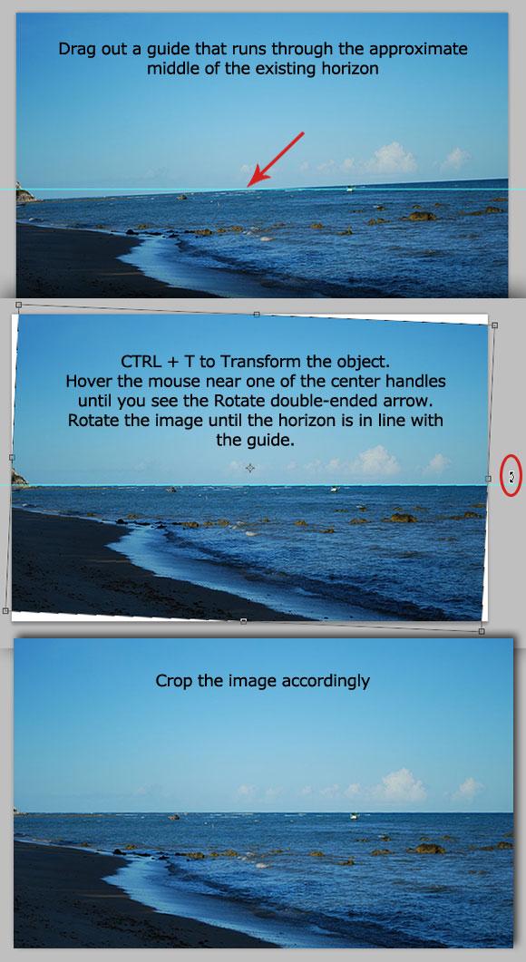 3-straighten-horizon-transform 10 Photoshop Quick Tips to Improve Your Workflow