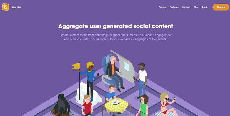 12-Waaffle 20 Beautiful and Stylish Startup Web Designs