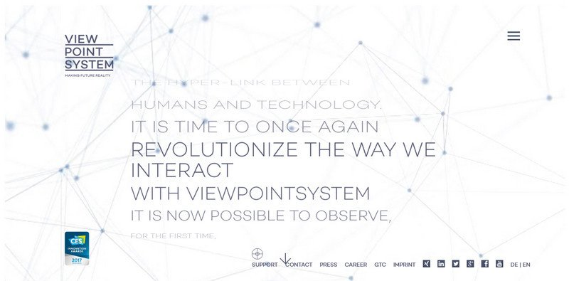8-Viewpoint-system 20 Beautiful and Stylish Startup Web Designs