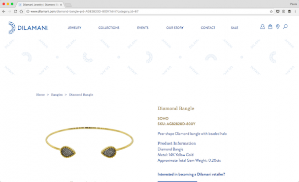 Dilamani-Jewelry-Diamond-Bangle-2017-01-21-17-09-36-589x360 The Use of Shapes in Web Design with 30 Examples