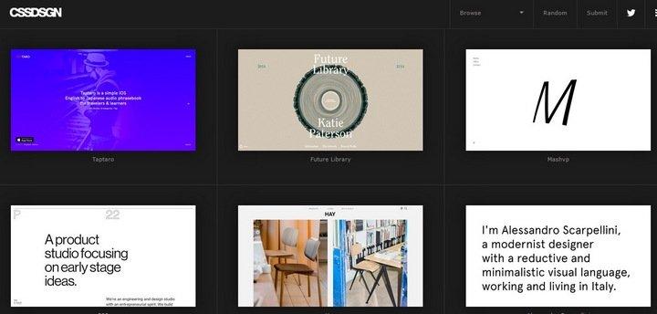 cssdsgn 15 Amazing CSS Web Design Galleries