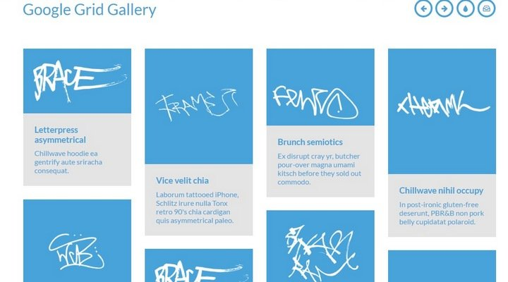 google-grid 15+ Great jQuery Images Gallery Plugins To Showcase Your Work