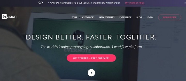 invision The Importance Of Wireframes In Web Design And 9 Tools To Create Wireframes