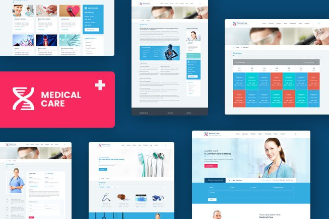 medical-care-prevew WrapPixel Coupon – 25% Discount