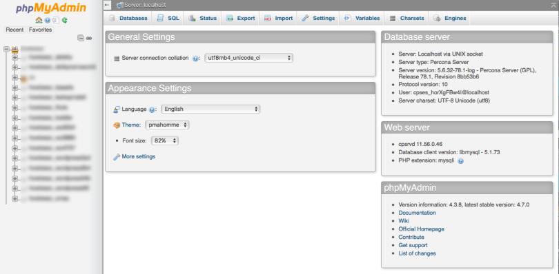 phpmyadmin A Detailed Guide to WordPress Optimization