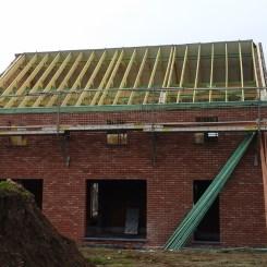 La toiture (façade arrière)