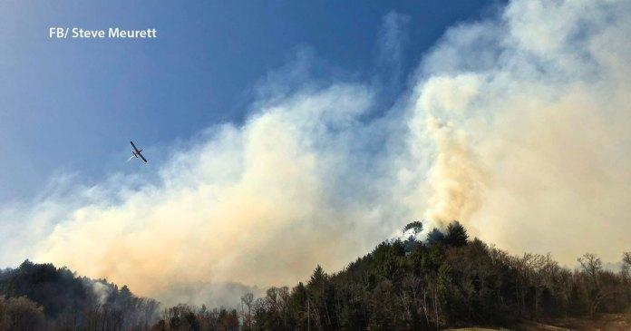 5 Fire Departments, 2 Fires in Clark County   OnFocus