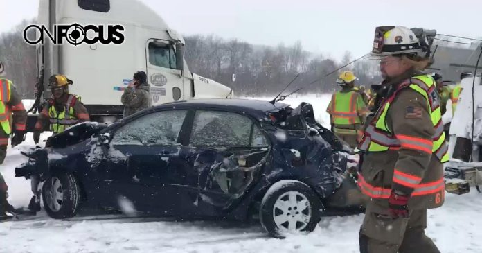 Multiple Accidents Throughout Wisconsin During Storm | OnFocus