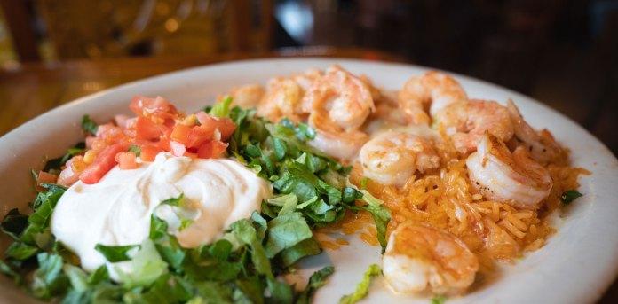 shrimp vallarta at el mezcal