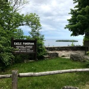 Peninsula State Park's Eagle Panorama