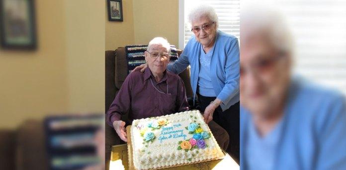 wedding anniversary celebration cake