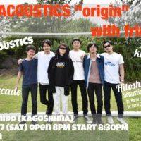 THE ACOUSTICS :: 久々のオリジナルメンバーでのライブに My Arcade / klar / Hitoshi Arai 出演