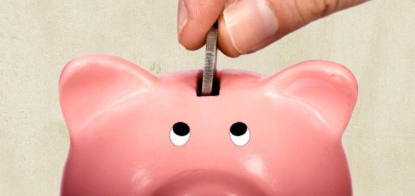 A piggy wiggy bank