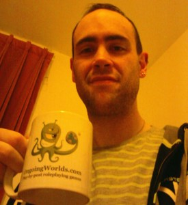 ed brown - a roleplayer with a cool mug (pun not intended!)