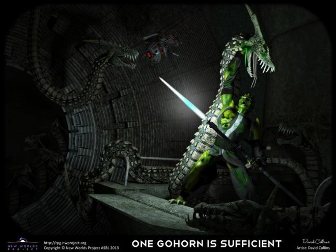 One Gohorn is sufficient