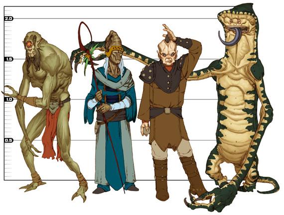 Alien line-up