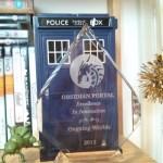 OngoingWorlds award on shelf 2013