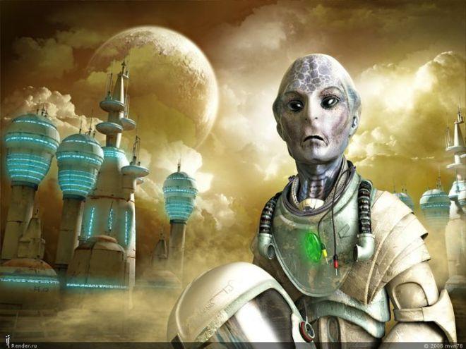 Portrait against starting a sandstorm Fantasy Author: mvn78