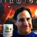 John Garcia with mug