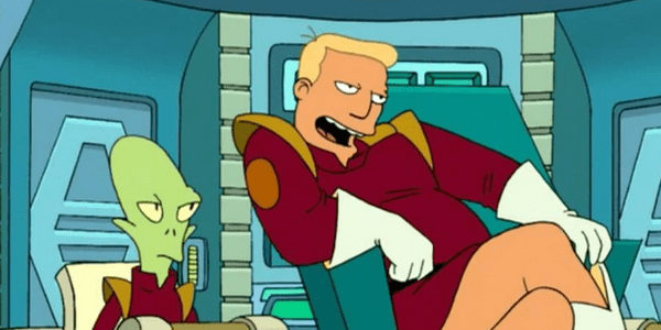 Captain Zapp Brannigan from Futurama