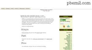 PBEM2 screenshot