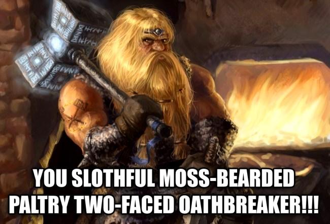 dwarf insult