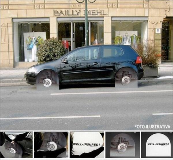 accesorios para coches ruedas ocultas