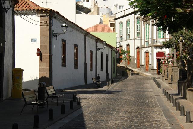 Calles de Canarias en septiembre