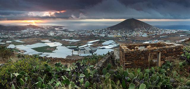 Paisaje de Canarias en Septiembre
