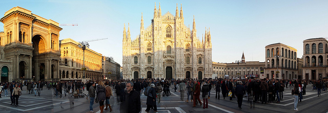arte europeo Milán