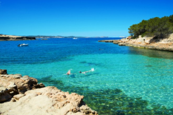 Mejores calas de Ibiza, Cala Gracioneta