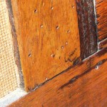 Woodworm treatment - Furniture infested with woodworm