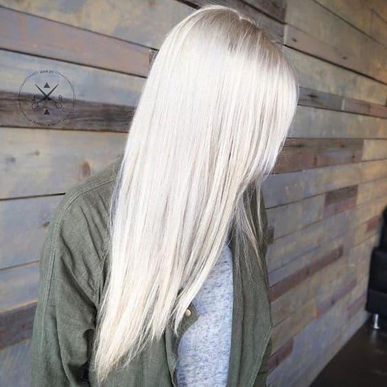 21 Extraordinary Icy Platinum Hair Color Ideas 2018 2019