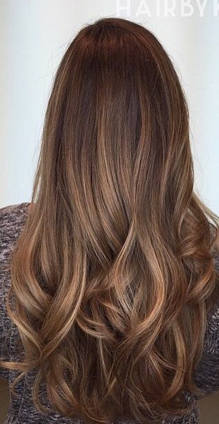 Best Brown Hair Highlights Light Color