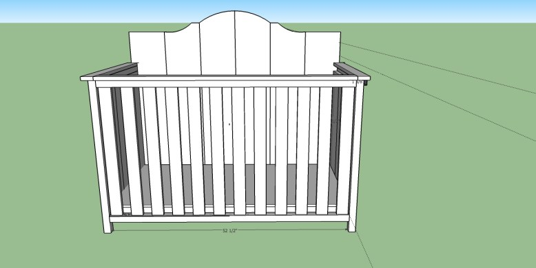 Crib Front View