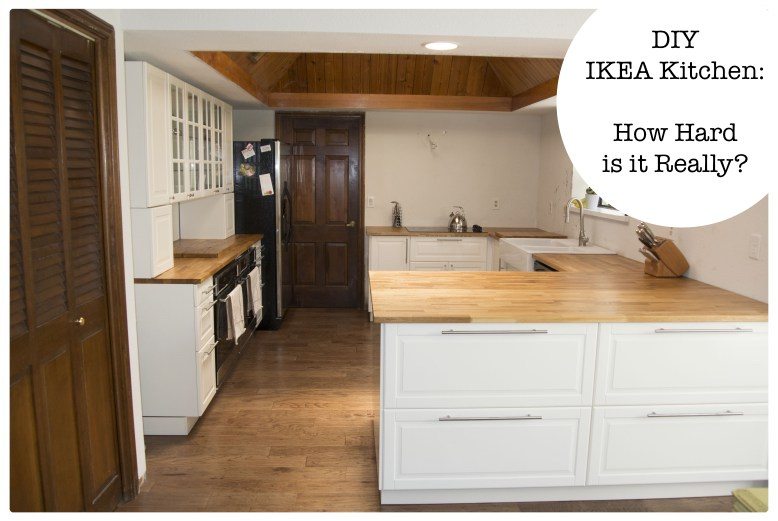 Diy Ikea Kitchen How Hard Is It Really On House And Home