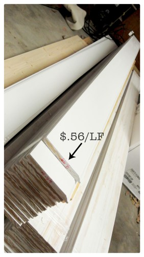 Habitat for Humanity Baseboards