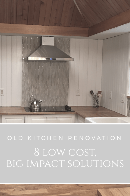 old kitchen renovation 8 low cost big impact solutions on house