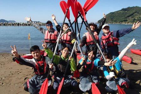 和歌山でシーカヤック体験