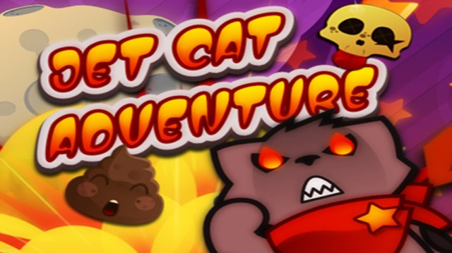 Imagen promocional de Jet Cat Adventure