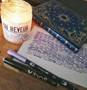 Des listes et des bougies