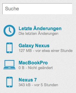 20GB kostenloser Online Speicherplatz für Backups, mit Apps für Android, iOS, Mac und Windows