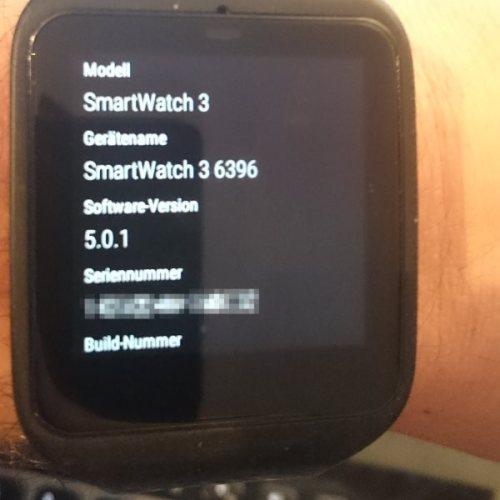 Sony Smartwatch 3 SWR50 - Android 5.0.1 Lollipop