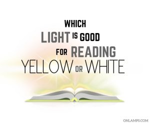Which Light is Good for Reading Yellow or White