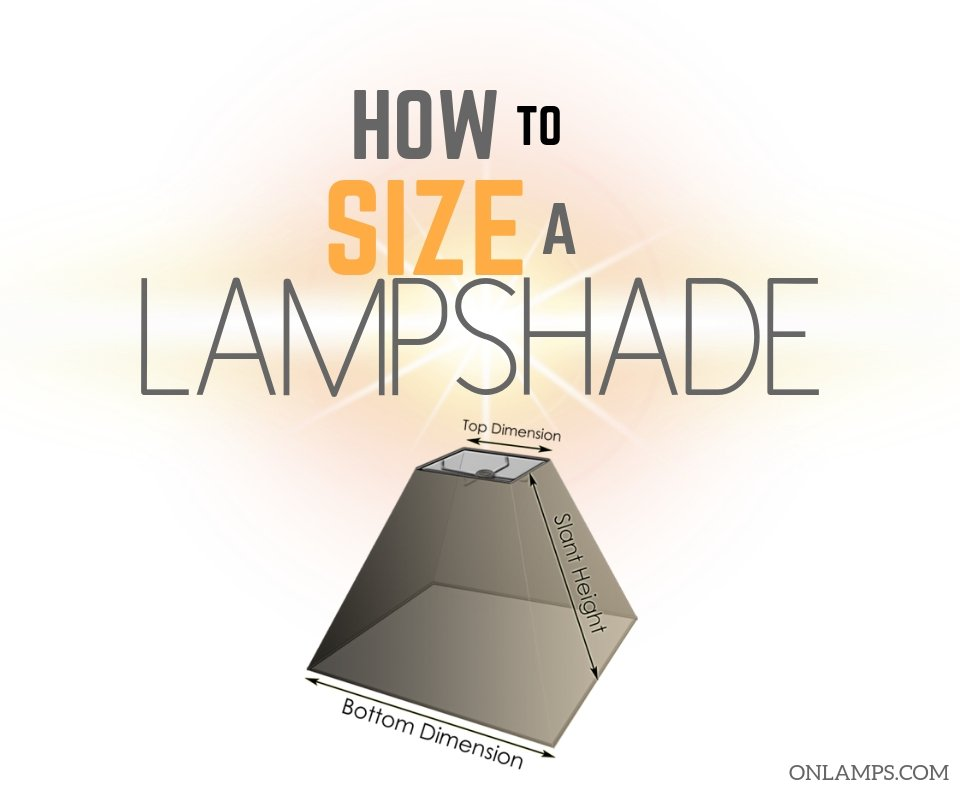 How to Size a Lampshade