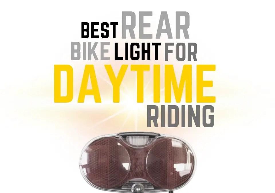 Best Rear Bike Light for Daytime